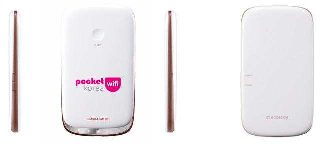 Pocket WiFi Korea URoad-LFM100