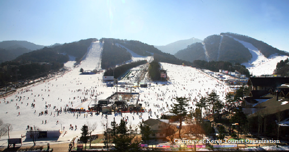Yongpyong Resort, Ski Korea