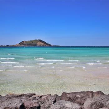 best beach in korea