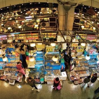 The Noryangjin Fisheries Wholesale Market
