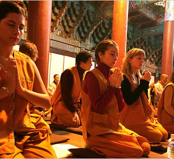temple stay in korea
