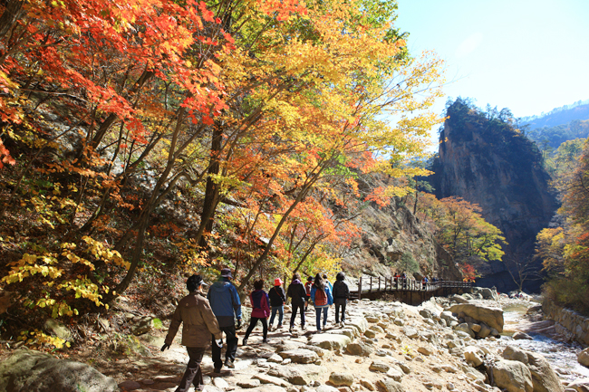 Seoraksan Mountain, Korea