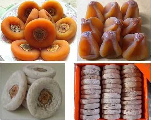 dried persimmon