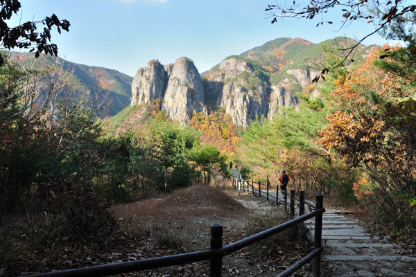 Juwangsan Mountain, Korea
